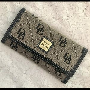 Dooney & Bourke Monogrammed Wallet